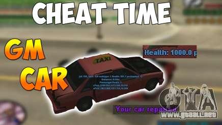 GM CAR para GTA San Andreas