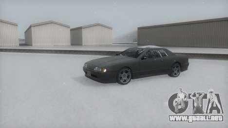 Elegy Winter IVF para la visión correcta GTA San Andreas