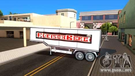 Box Trailer V2 para visión interna GTA San Andreas
