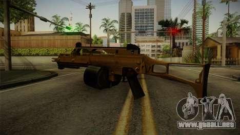 HK G36C v2 para GTA San Andreas tercera pantalla