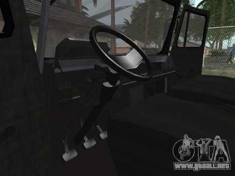 Zastava 640 Armenian para GTA San Andreas vista hacia atrás