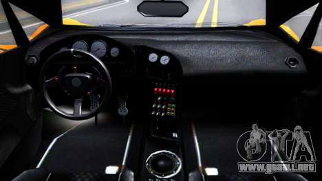 GTA V Pegassi Lampo Roadster para visión interna GTA San Andreas