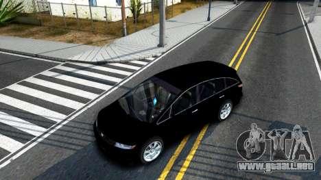 2010 Dinka Perennial Unmarked para visión interna GTA San Andreas