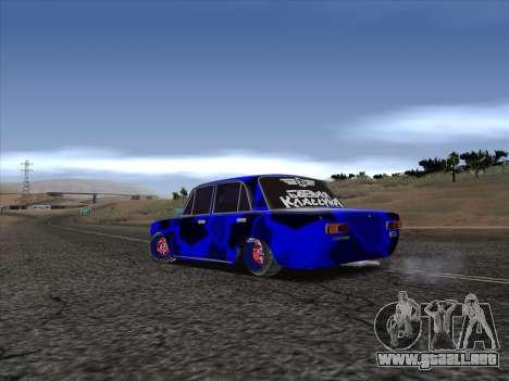 VAZ 2101 BC para GTA San Andreas vista posterior izquierda