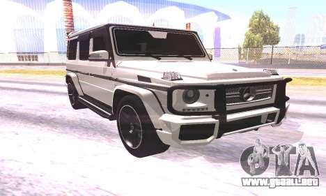 Mercedes-Benz G65 AMG 2013 para GTA San Andreas left