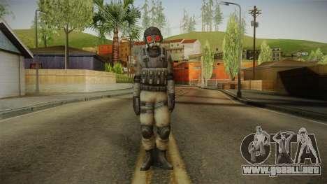 Resident Evil ORC - USS v1 para GTA San Andreas segunda pantalla
