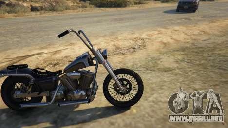 GTA 5 Daemon SOA Harley-Davidson vista lateral izquierda