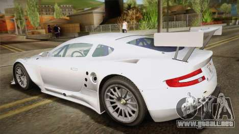 Aston Martin Racing DBR9 2005 v2.0.1 YCH para GTA San Andreas left