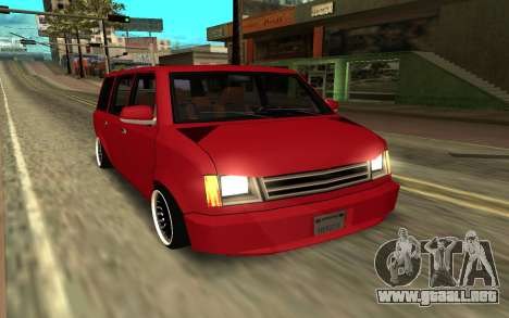 Moonbeam JDM para GTA San Andreas