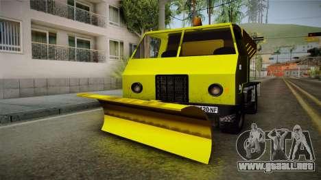 TAM 110 Snow Blower para GTA San Andreas