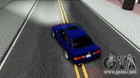 BMW E30 para visión interna GTA San Andreas
