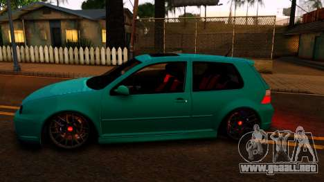 VW Golf 4 para GTA San Andreas left