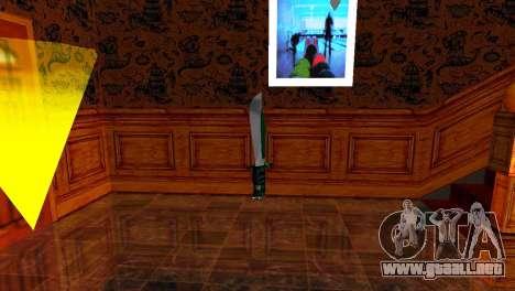 Crocodile Dundee Knife OUTBACK para GTA San Andreas segunda pantalla