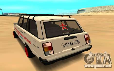 VAZ 2104 BK para GTA San Andreas left