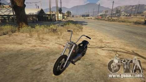GTA 5 Daemon SOA Harley-Davidson vista trasera
