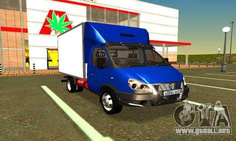 Gazel 3302 Negocio para GTA San Andreas
