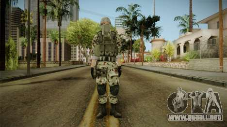 Resident Evil ORC Spec Ops v1 para GTA San Andreas segunda pantalla