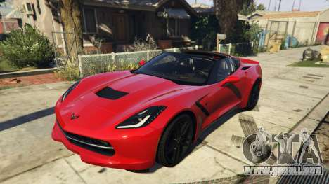 2014 Chevrolet Corvette C7 Stingray para GTA 5