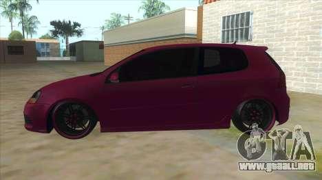 Volkswagen Golf MK para GTA San Andreas left