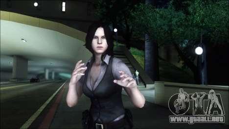 Resident Evil 6 - Helena Usa Outfit para GTA San Andreas tercera pantalla