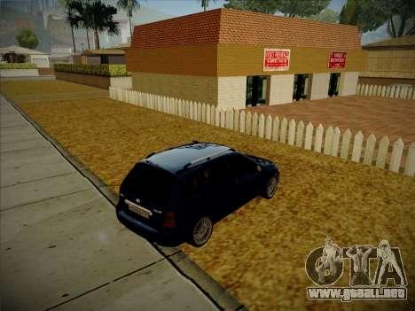 VAZ Kalina 1117 Carelio Edición para GTA San Andreas vista posterior izquierda