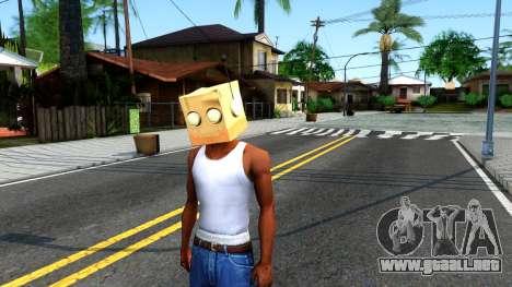 Bot Fan Mask From The Sims 3 para GTA San Andreas