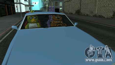 Five Nights At Freddys para GTA San Andreas