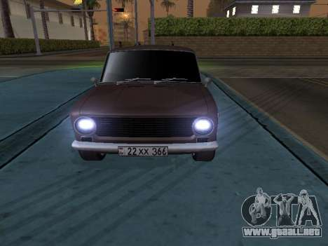 VAZ 2101 armenia para GTA San Andreas left