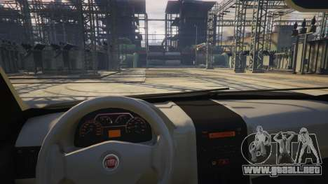 GTA 5 Fiat Palio Way Brasil 2015 vista lateral derecha