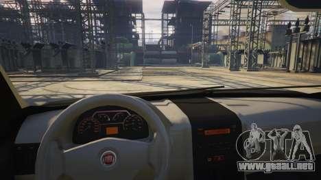 Fiat Palio Way Brasil 2015 para GTA 5