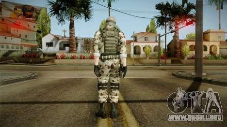 Resident Evil ORC Spec Ops v1 para GTA San Andreas tercera pantalla
