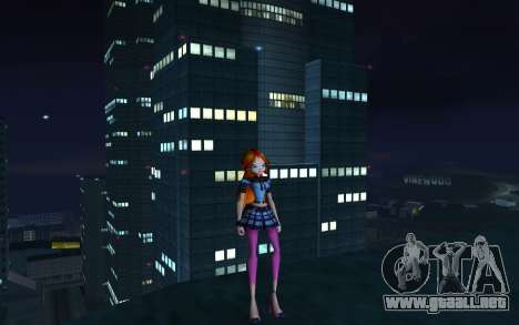 Bloom Rock Outfit from Winx Club Rockstar para GTA San Andreas