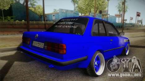 BMW M3 E30 Rocketbunny para GTA San Andreas left