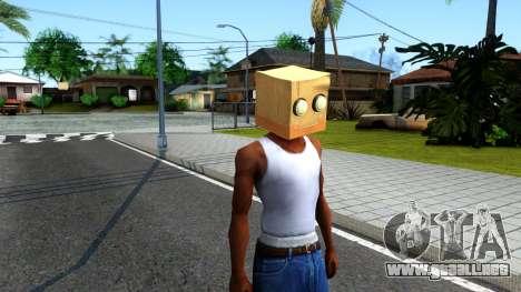 Bot Fan Mask From The Sims 3 para GTA San Andreas segunda pantalla