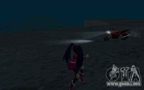 Musa Rock Outfit from Winx Club Rockstars para GTA San Andreas sucesivamente de pantalla