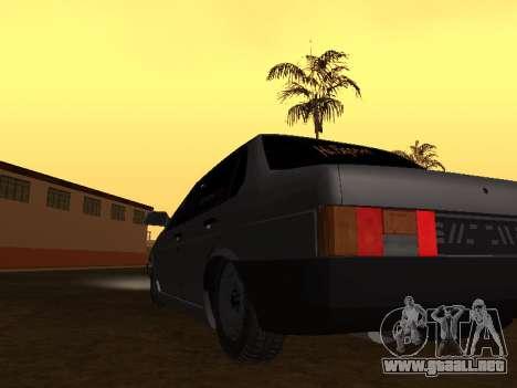 VAZ 21099 BPAN para la visión correcta GTA San Andreas