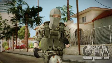 Resident Evil ORC Spec Ops v1 para GTA San Andreas