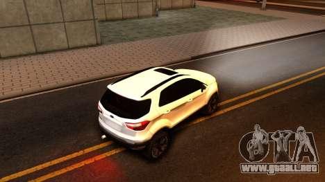 Ford EcoSport 2016 para la visión correcta GTA San Andreas