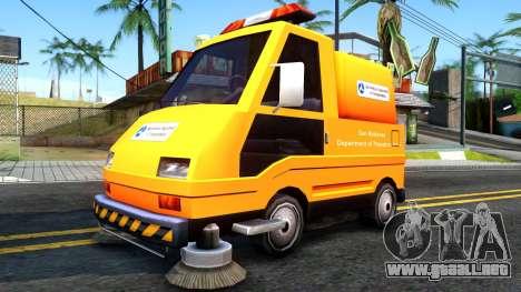 Brute Sweeper SA DOT 1992 para GTA San Andreas