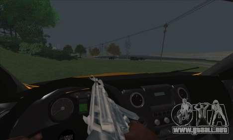 Ural Camión De Combustible Siguiente para la vista superior GTA San Andreas