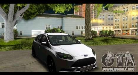 Ford Focus ST 2013 Formación para GTA San Andreas