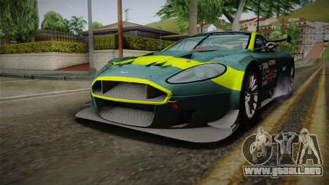 Aston Martin Racing DBRS9 GT3 2006 v1.0.6 YCH v2 para el motor de GTA San Andreas