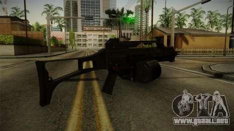 HK G36C v1 para GTA San Andreas tercera pantalla