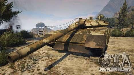GTA 5 T-100 Varsuk vista lateral izquierda