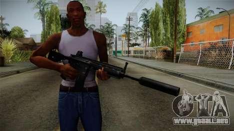 HK416 v3 para GTA San Andreas tercera pantalla