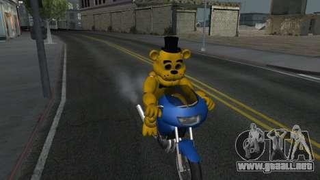 Five Nights At Freddys para GTA San Andreas segunda pantalla
