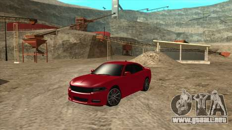 Dodge Charger R/T 2015 para GTA San Andreas