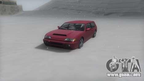Flash Winter IVF para GTA San Andreas vista posterior izquierda
