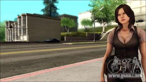 Resident Evil 6 - Helena Usa Outfit para GTA San Andreas segunda pantalla