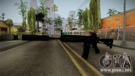 HK416 v3 para GTA San Andreas